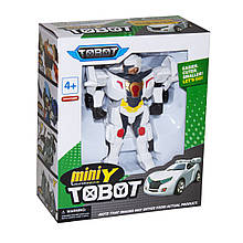 Фигурка трансформер Tobot mini Y (белый)