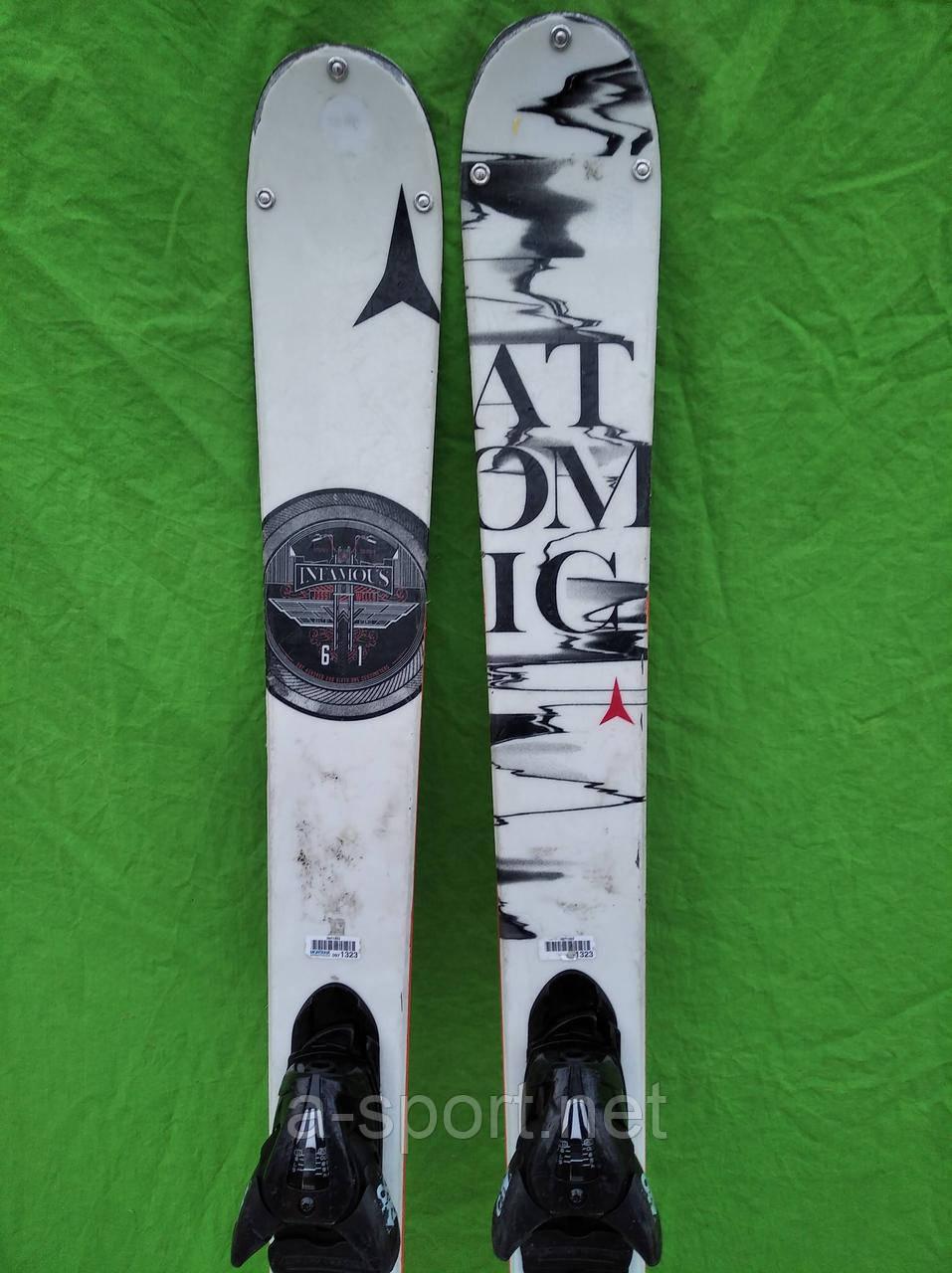Atomic Infamous 151 см гірські лижі фрістайл, твін-тіп 2016p