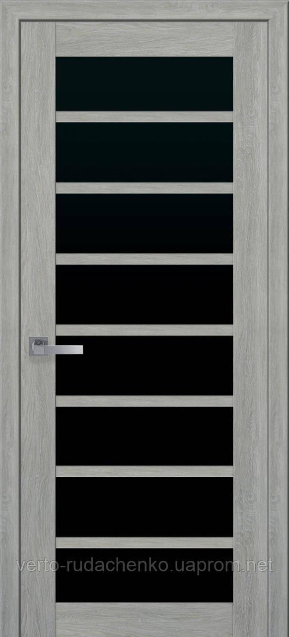 Двери коллекции Мода ПВХ Ultra Модель Виола Декор дуб дымчатый