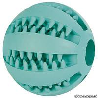 Trixie Игрушка для собак мяч бейсбольный с ароматом мяты, ø 6,5 см.