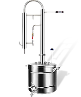 Дистиллятор Колонна ЭКСТРА .Бак 50 литров 1.5 дюйма  .без бака . Колона. (Под заказ изготовим любой)