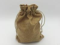 Чехол для карт таро, мешочек 12х17см. Бежевый темный, фото 1