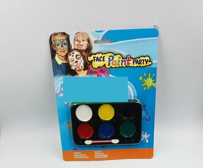 Краски для лица 6 цветов