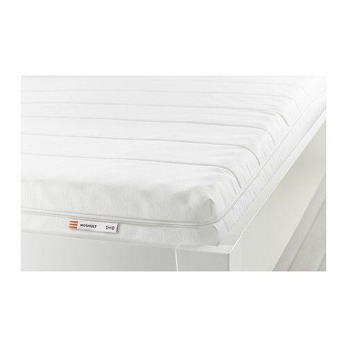 "IKEA ""МОСХУЛЬТ"" Пенополиуретановый матрас, жесткий, белый 160х200 см"