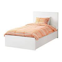 """IKEA""""МАЛЬМ"""" Каркас кровати+2 кроватных ящика, белый"""