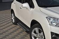 "Пороги, подножки ""X-5 тип"" Chevrolet Trax"