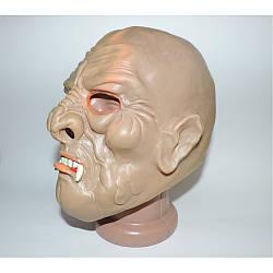 Маскарадная маска страшная Вампира резиновая на Хэллоуин