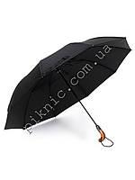Компактный семейный, мужской зонт автомат: 2 сложения. Антиветер. Диаметр купола 125 см. Польша