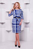 Женское платье Тэйлор голубая клетка
