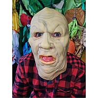 Маскарадная маска страшная Жирдяя маска-шапка на хэллоуин