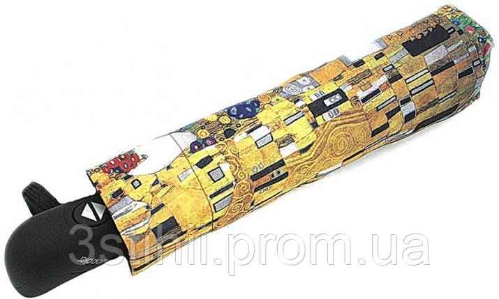 Зонт женский Doppler 744959K автомат Картина Klimt, фото 2