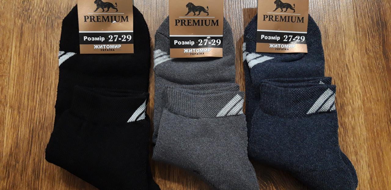 """Шкарпетки чоловічі махрові стрейчеві"""" Premium"""" Адік 27-29(41-44)"""