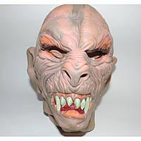 Маскарадная маска страшная Монстр Зубастый на Хэллоуин