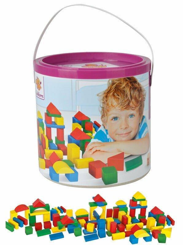 Игровой набор деревянные кубики в ведре Eichhorn 10151