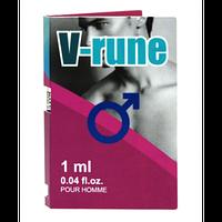 Духи с феромонами мужские V-RUNE 1 мл.