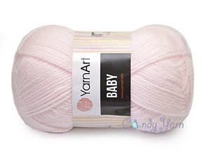 YarnArt Baby, Светло-розовый №853
