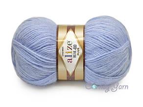 Alize Angora Real 40 Plus, Голубой №40