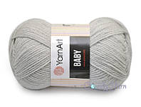 YarnArt Baby, Светло-серый №855