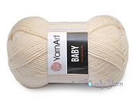 YarnArt Baby, Светлый персик №854