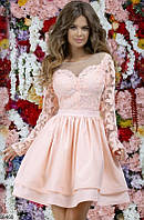 Платье женское вечернее короткое пышное 42-46 размеров