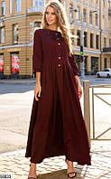 Платье женское длинное демисезонное больших размеров 42-60 Турция