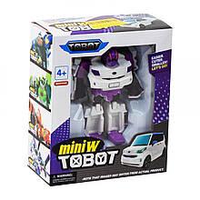 Трансформер Tobot mini W (белый)