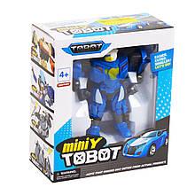 Трансформер Tobot mini Y (синий)