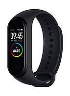 Фитнес браслет M4, умные смарт часы фитнес трекер Xiaomi Mi Band 4 Реплика.