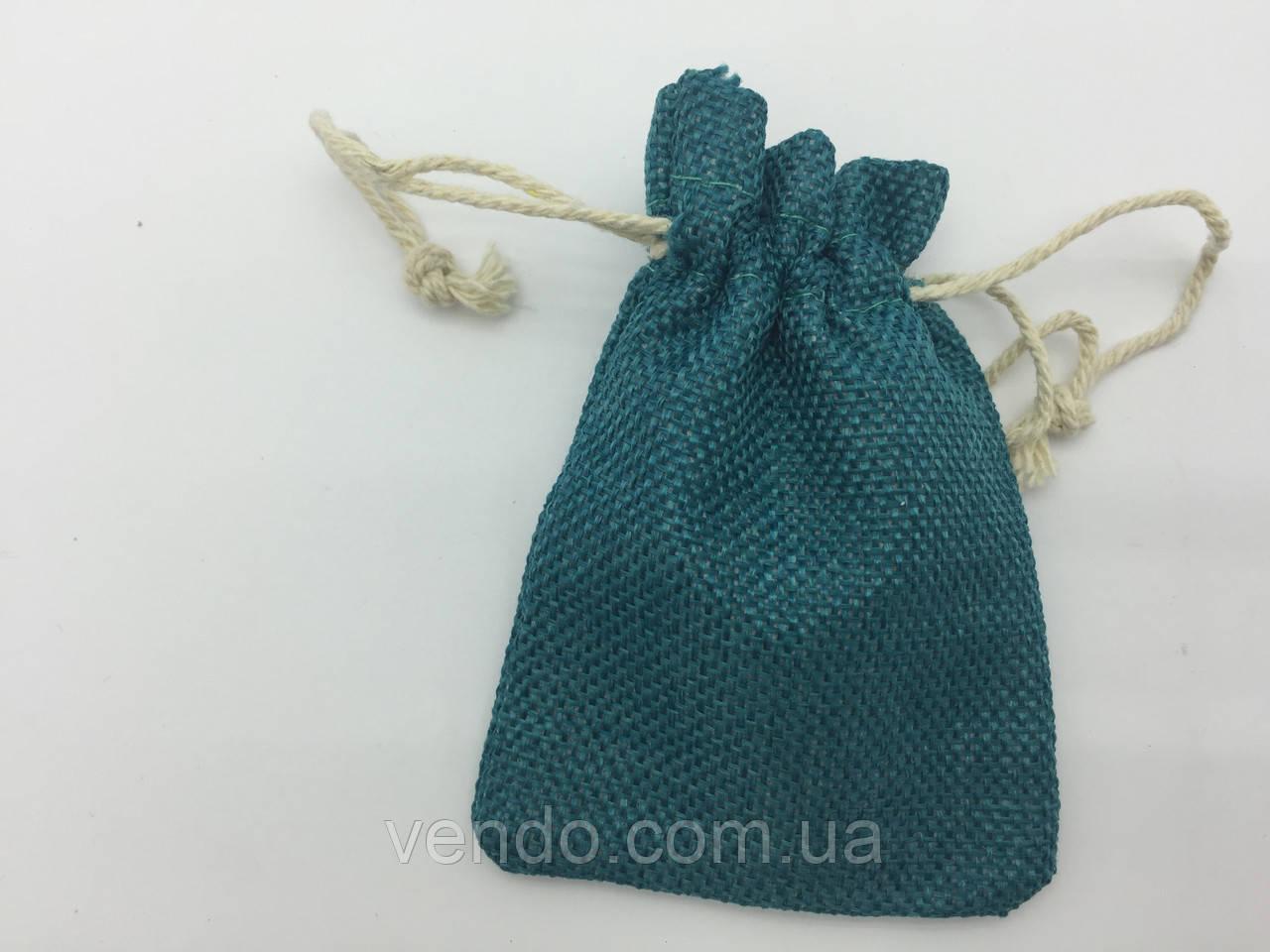 Чехол для рун, мешочек 7х10 см. Изумрудный
