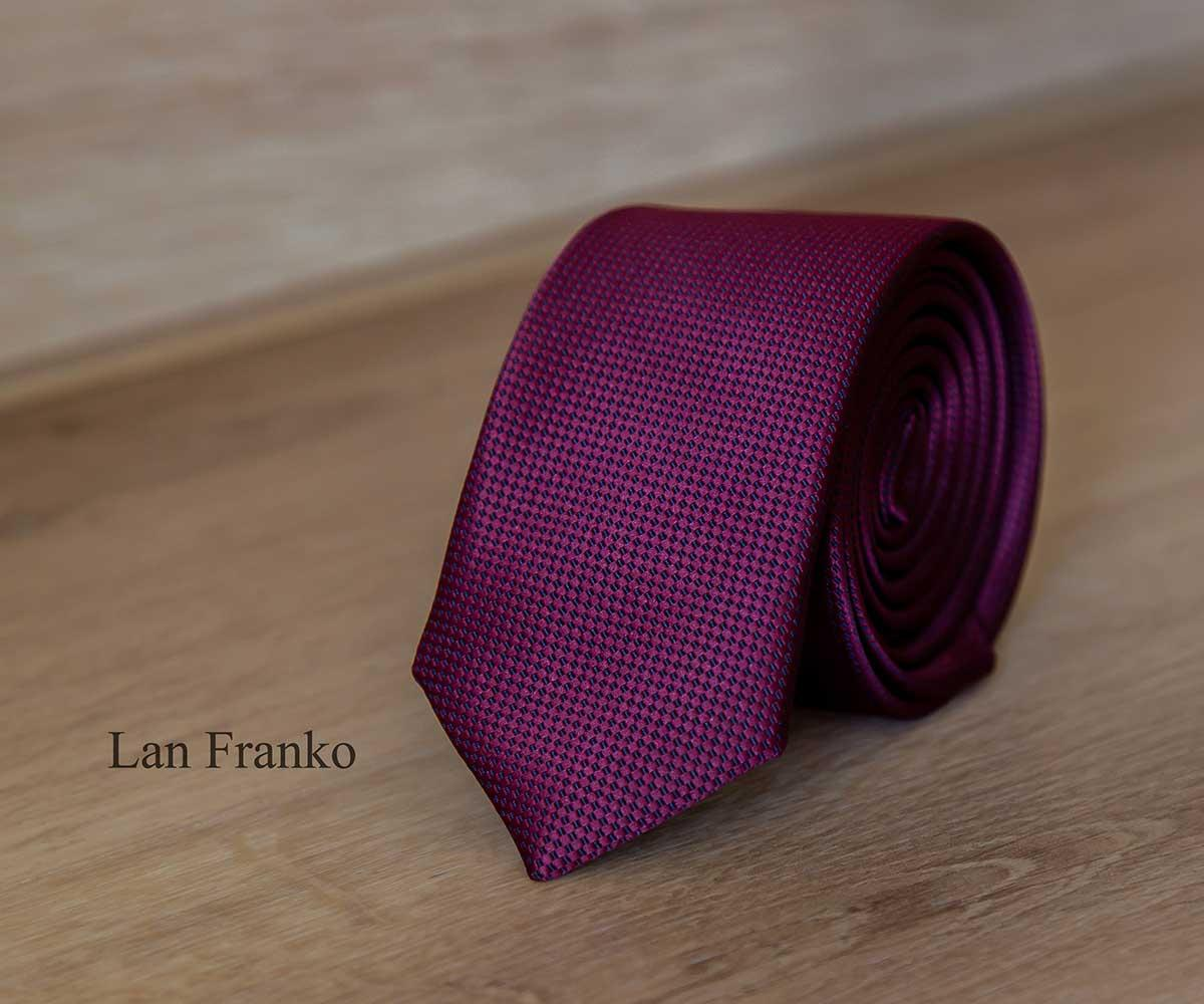 Галстук мужской узкий с рисунком | Lan Franko (Арт.: GMUR-LF131)