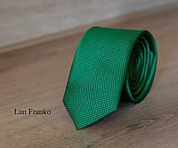 Галстук мужской узкий с рисунком | Lan Franko (Арт.: GMUR-LF132)