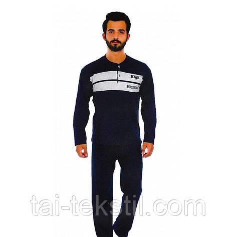 Пижамы мужские плотная байка Турция FAYFI 841, фото 2