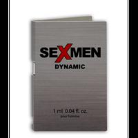 Парфуми чоловічі SEXMEN DYNAMIC 1 мл.