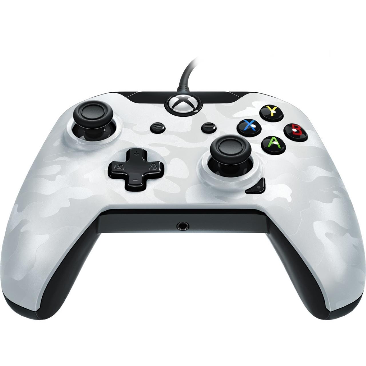 Геймпад (джойстик) Microsoft Xbox ONE,PC Wired Controller PDP XO White (проводной)