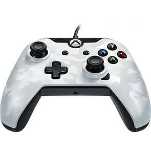 Геймпад (джойстик) Microsoft Xbox ONE,PC Wired Controller PDP XO White (провідний)
