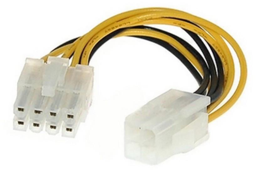 Перехідник 4 pin - 8 pin для процесору