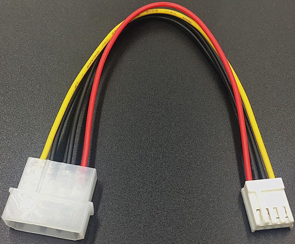 Перехідник 4 pin(великий) - 4 pin(малий) для гнучких дисків