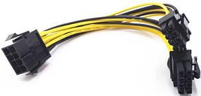 Розгалужувач 8 pin - 2х8 pin для відеокарти