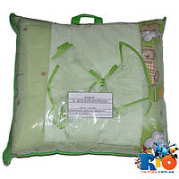 Комплект в детскую кроватку (хлопок): одеяло, подушка, постель, балдахин, охранка (мин зказ 1 ед)