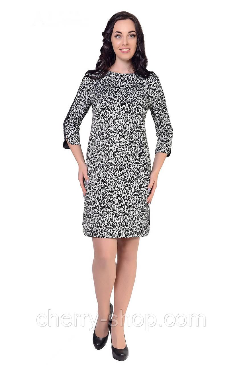 Комфортное женское платье  свободного кроя