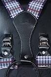Синие мужские подтяжки, фото 2