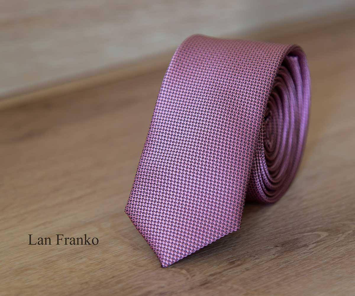 Галстук мужской узкий с рисунком | Lan Franko (Арт.: GMUR-LF146)