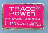 Модуль питания 5В 1А 83% Traco TEN5-2411 Module