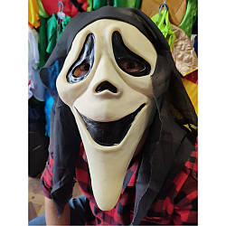 Маскарадная маска Крика укуренного резиновая персонаж крик