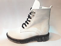 Зимние женские ботинки из натуральной кожи., фото 1