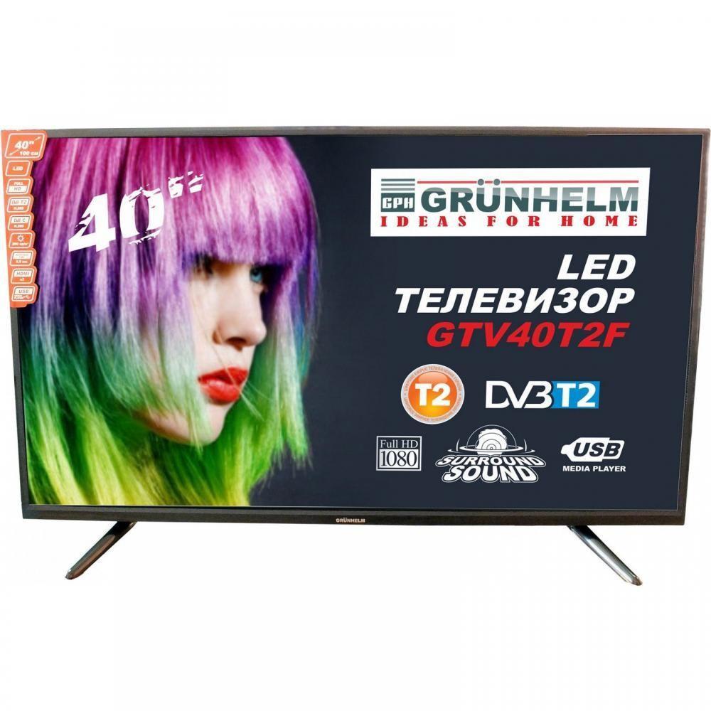 Телевизор Grunhelm GTV40T2F+Бесплатная доставка!