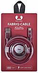 Fresh 'N Rebel Fabriq Lightning кабель 3m Ruby, фото 3