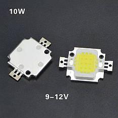 LED модуль 10вт COB сверхяркий потужний світлодіодний чіп LED Epistar для прожекторів