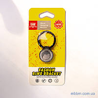 Держатель для телефона (попсокет, posocket) Fashon Ring Bracket кольцо черный
