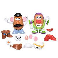 Disney Toy Story 4 История игрушек 4 Миссис Картошка, Мистер Картошка 4 в 1 Mr. Potato Head Play Set